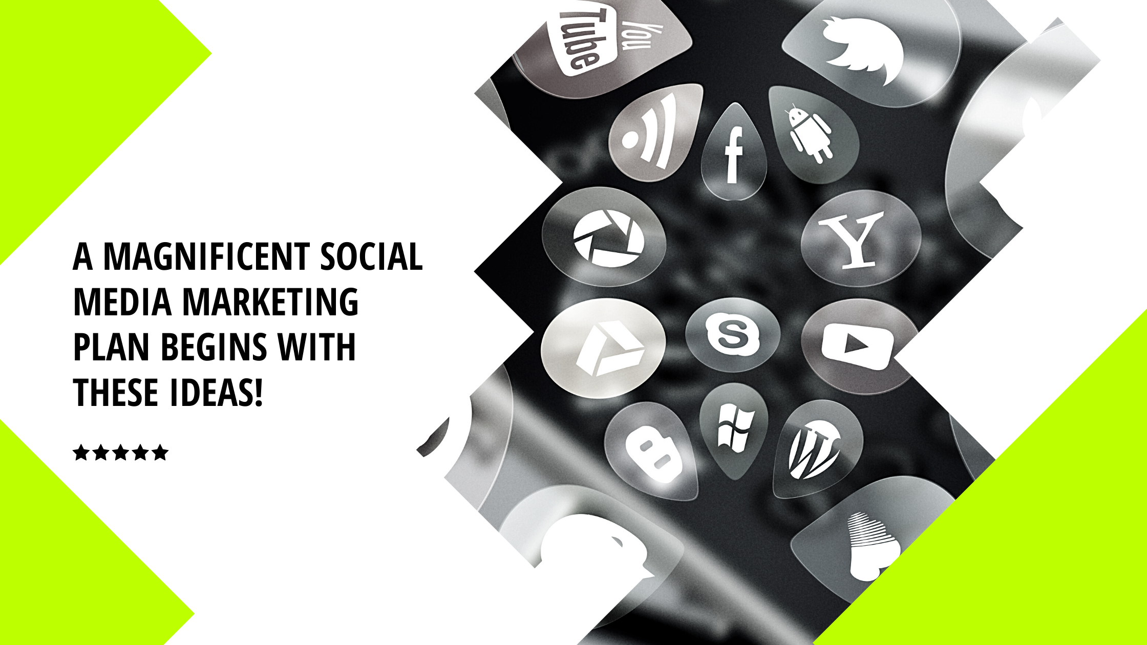 A Magnificent Social Media Marketing Plan Begins With These Ideas